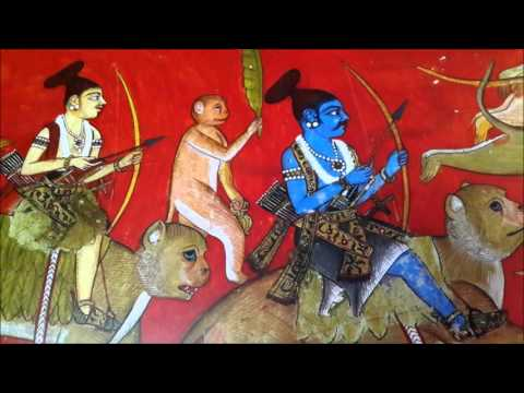 Rama fatally wounds Vali  Valmiki Ramayana  Rajendra Tandon videos  My Movie