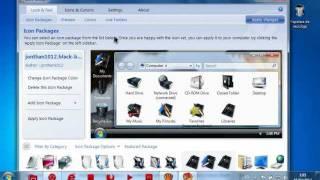 Como Descargar Icon Packager+Key-partes de vol de iconos
