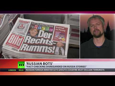 Major media outlets under fire over fake stories on Russian bots