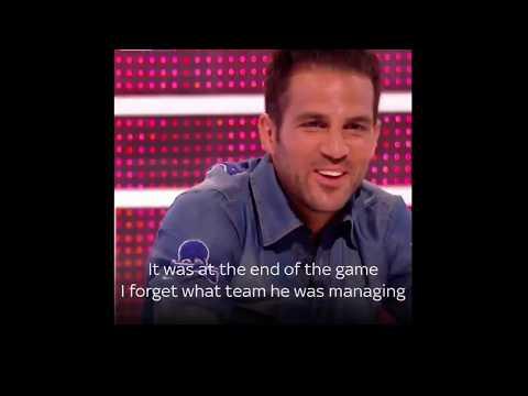 "Cesc Fabregas tells Harry Redknapp ""Your football is sh*t"""