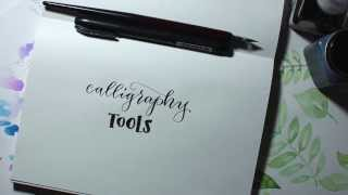 Calligraphy Starter Tools