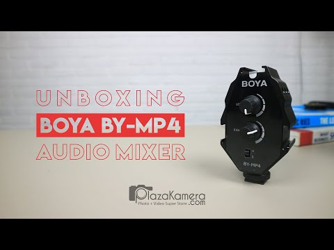 Unboxing Boya BY-MP4, Audio Mixer Buat Vlog?