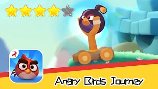 Angry Birds Journey 118 Walkthrough Fling Birds Solve Puzzles Recommend index four stars
