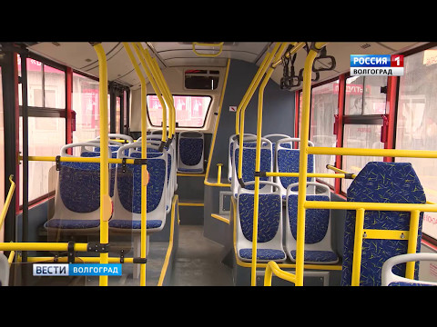 Десять новых автобусов волгоградского производства вышли на городские маршруты