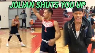 They Came At Julian Newman's NECK!! Julian Leads Comeback vs INSANE CROWD! Drops 41 😱