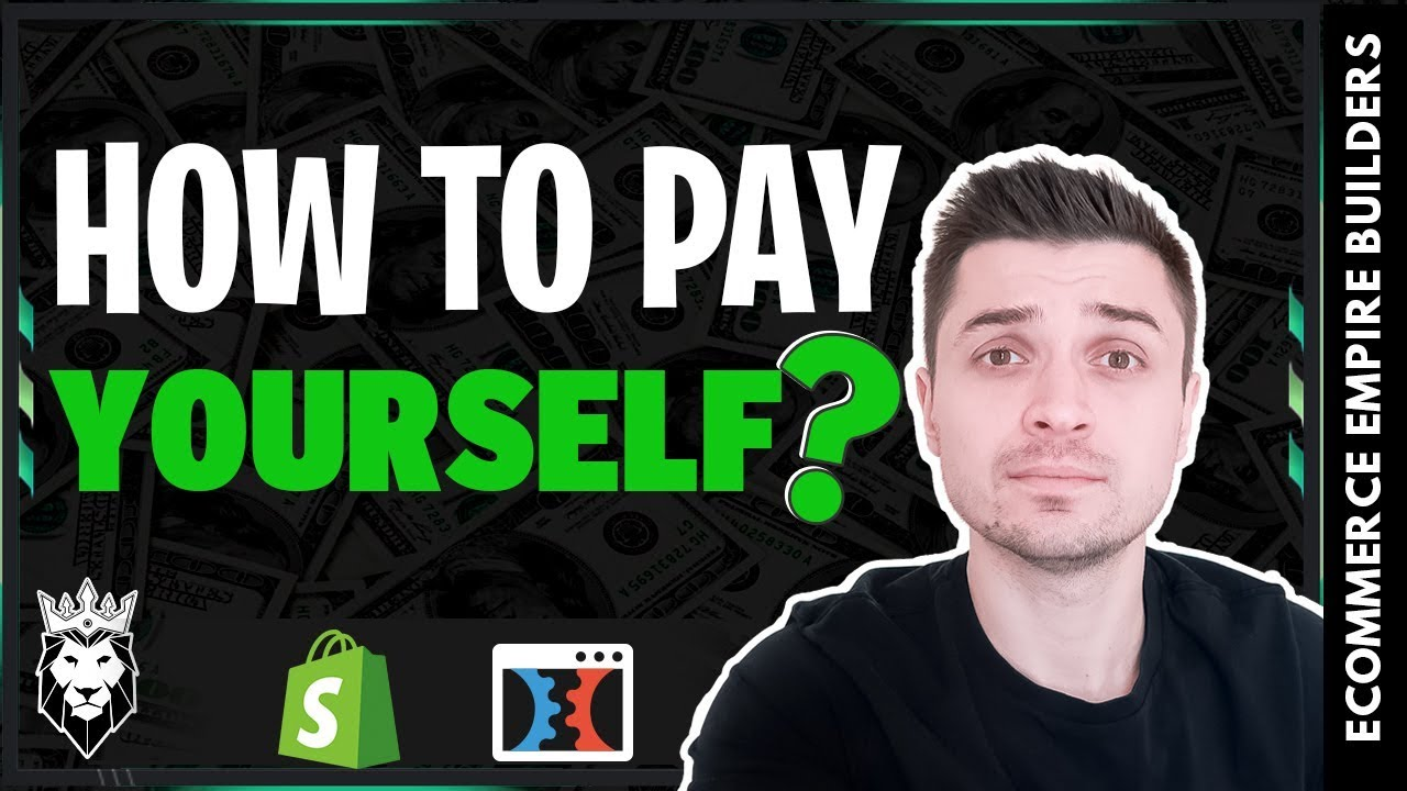 HOW TO START PAYING YOURSELF FROM YOUR DROPSHIPPING BUSINESS | SHOPIFY & CLICKFUNNELS