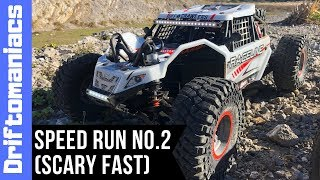 8S SCARY FAST Losi Super Rock Rey Speed Run No.2