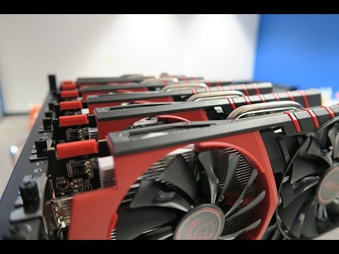 WOW!! SO MANY GPU'S!! Building a mining rig!