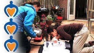 EHBO - Eerste hulp bij bewusteloosheid zonder effectieve ademhaling (reanimatie)
