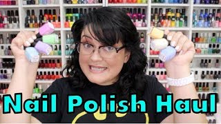 HUGE NAIL POLISH HAUL!!! Part 1 of 2 (yup it's a two parter)