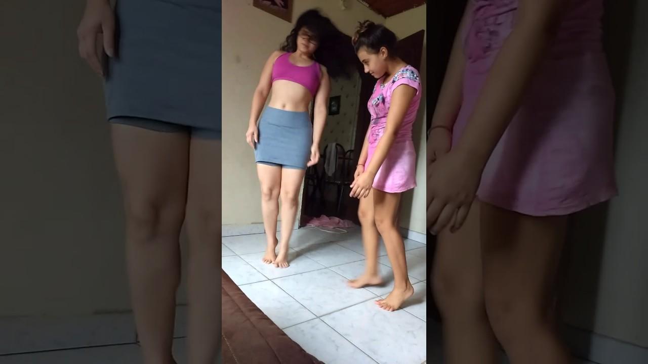 Dançando com minha tia Larissa kkkkk