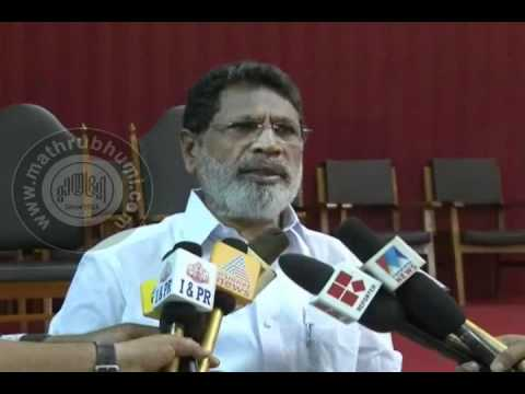 Kerala's newly elected speaker's press meet