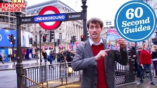60-Second Guide: How to Use the London Underground Are you unsure a...