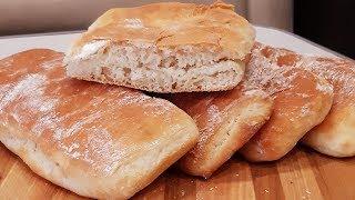 Ароматные и воздушные бутербродные булочки для хрустящих панини!Panini!