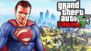 COMMENT ETRE SUPERMAN SUR GTA 5 ! (CHEAT CODE)