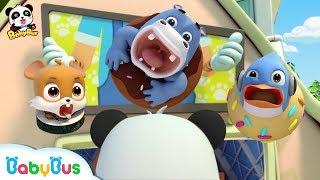 Робот кулинар Кики и его друзья Мультфильм для детей BabyBus