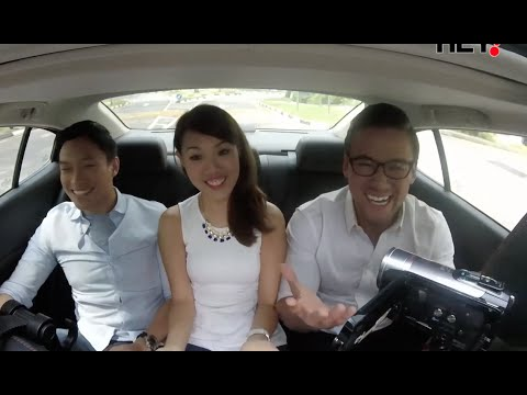 Car ride with fresh grads from NTU Singapore