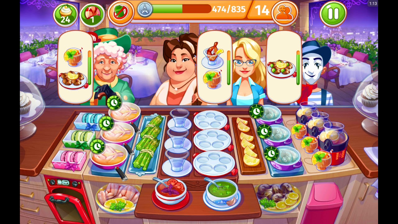 cooking craze paris lvl 71 10 new levels frog legs and macaroons