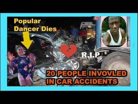 Dog Rice Dies & multiple car wrecks