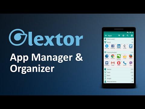 Glextor App Manager & Organizer