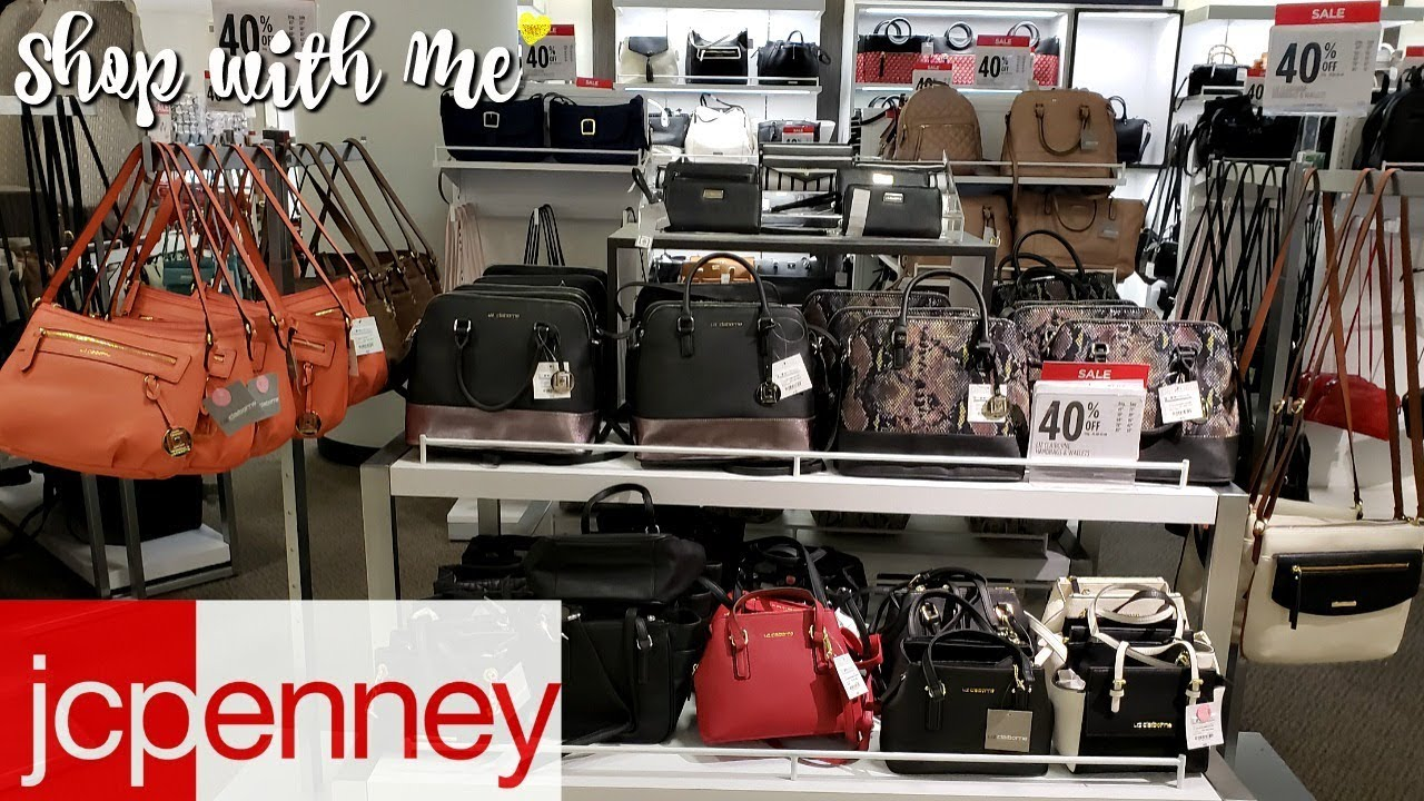 Jcpenny Handbags Jewelry Shop With Me 2019