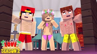 ROOM ESCAPE LOVE ISLAND CHALLENGE!   Minecraft Little Kelly