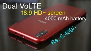 iVOOMi i2 Lite review - Dual VoLTE, 18:9 screen and 4000 mAh battery is the main highlight