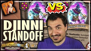 DJINNI VS DJINNI! WHO WINS?! - Hearthstone Battlegrounds