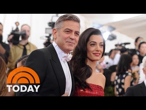 George Clooney And Amal Clooney Welcome Twins | TODAY
