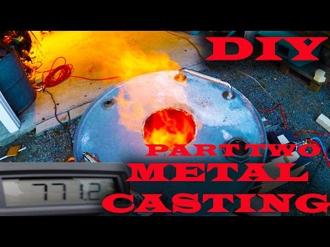 DIY Metal Casting Foundry Part 2