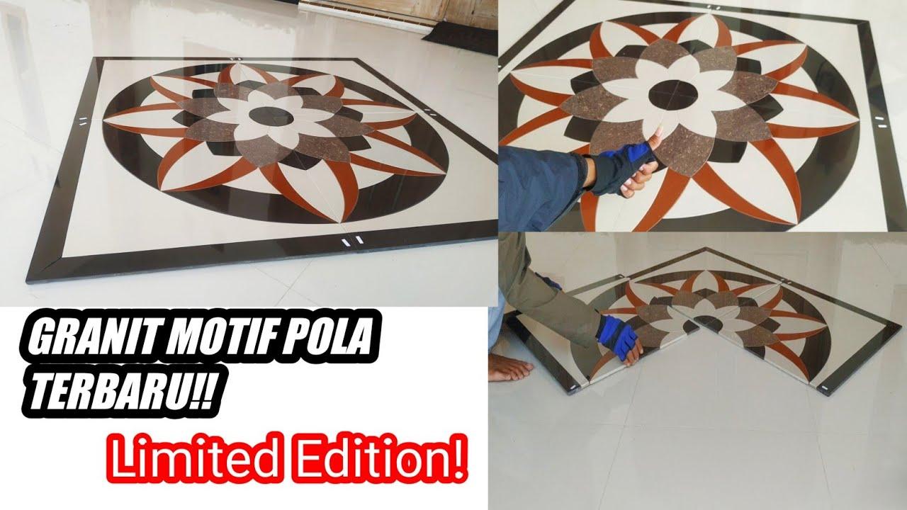 Granit Motif Pola Bunga Spesialis Keramik Ponorogo Youtube
