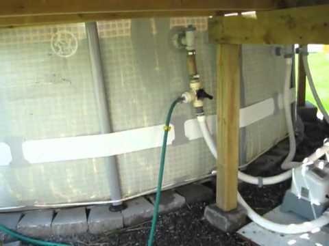 rocket stove hybride comme chauffe eau de piscine youtube