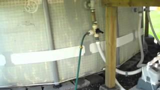 Rocket-Stove Hybride comme chauffe-eau de piscine