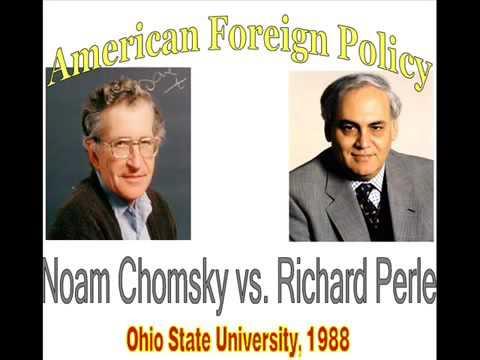 Noam Chomsky vs Richard Perle Debate on US Foreign Policy