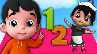 One Two Buckle My Shoe   Chansons pour enfants   Rhyme Pour les bébés   Number Song   Kids Music