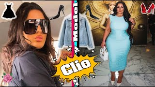 Clio ... II 👗 Customize the plus size models and how to style your winter coats
