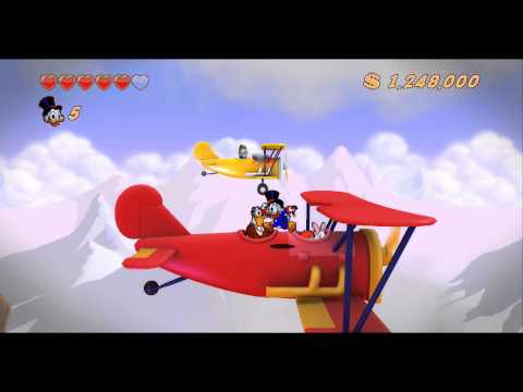 DuckTales Remastered Walkthrough Part 5 - The Himalayas - The Lost Crown of Genghis Khan