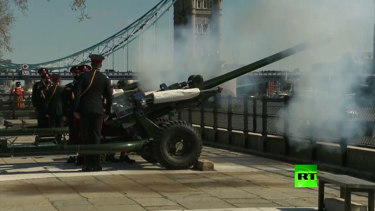 إطلاق نار من المدفعية إحياء لذكرى الأمير فيليب خلال جنازته  - نشر قبل 4 ساعة
