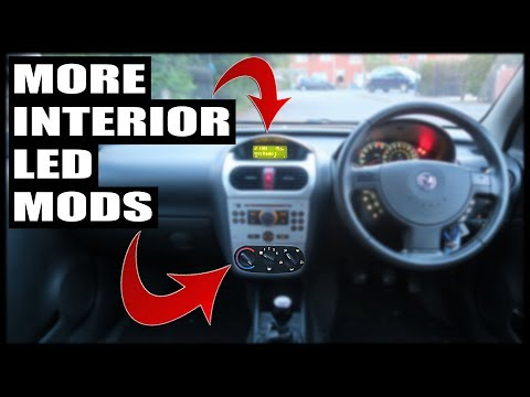 Installing MORE Interior LED Mods *Corsa Project Car*