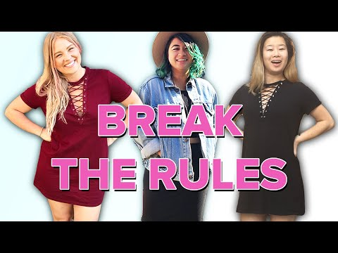 Petite Women Break Fashion Rules For A Week