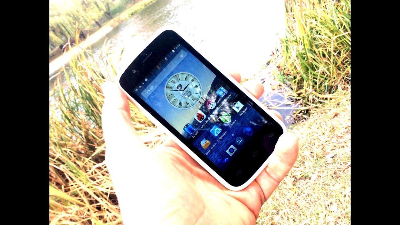 Prestigio MultiPhone 5504 Duo - видео обзор - YouTube