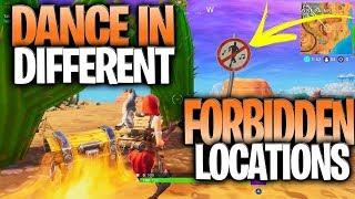 All 7 Forbidden Sign Locations -