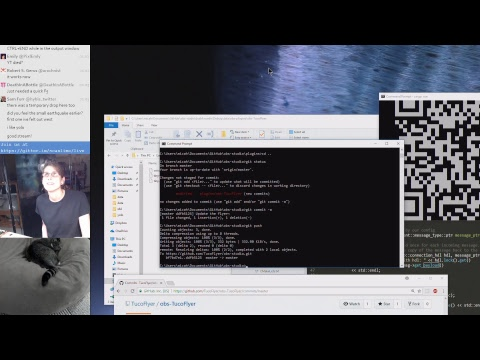 Coding the OBS plugin for 'bot vision and on-screen display @scanlime-in-progress