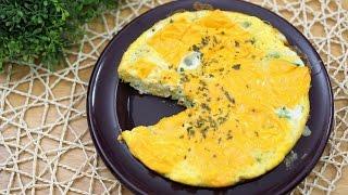 꿀맛 계란요리 프리타타 간단한 아침식사로 강추 [램블]