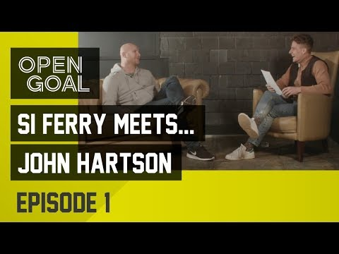 Si Ferry Meets... John Hartson Ep 1 - Arsenal, West Ham, Crazy Gang, Rangers Medical, Joining Celtic