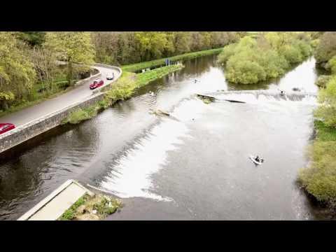 Mavic Pro : River Barrow Kayaks