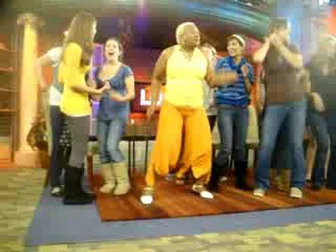 Dancing before the Maury show (9/25/08)