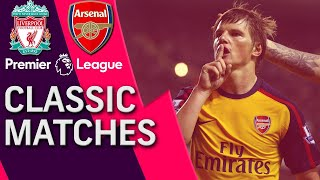 Liverpool v. Arsenal | Premier League Classic Match | 04/21/09 | NBC Sports