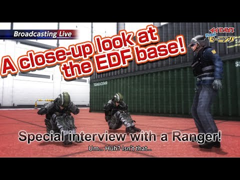 EARTH DEFENSE FORCE 5 3rdPV:A close-up look at the EDF base!