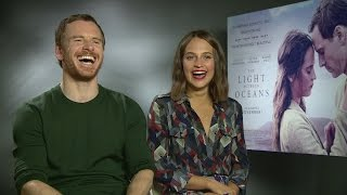 The Light Between Oceans Michael Fassbender Explains Getting Into Character With Alicia Vikander